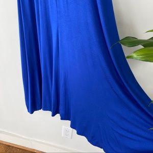 Flowy rayon maxi skirt